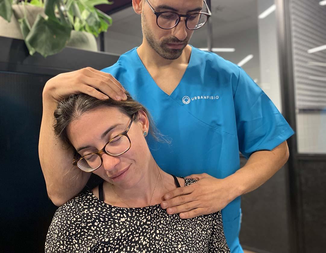 Fisioterapia en la empresa