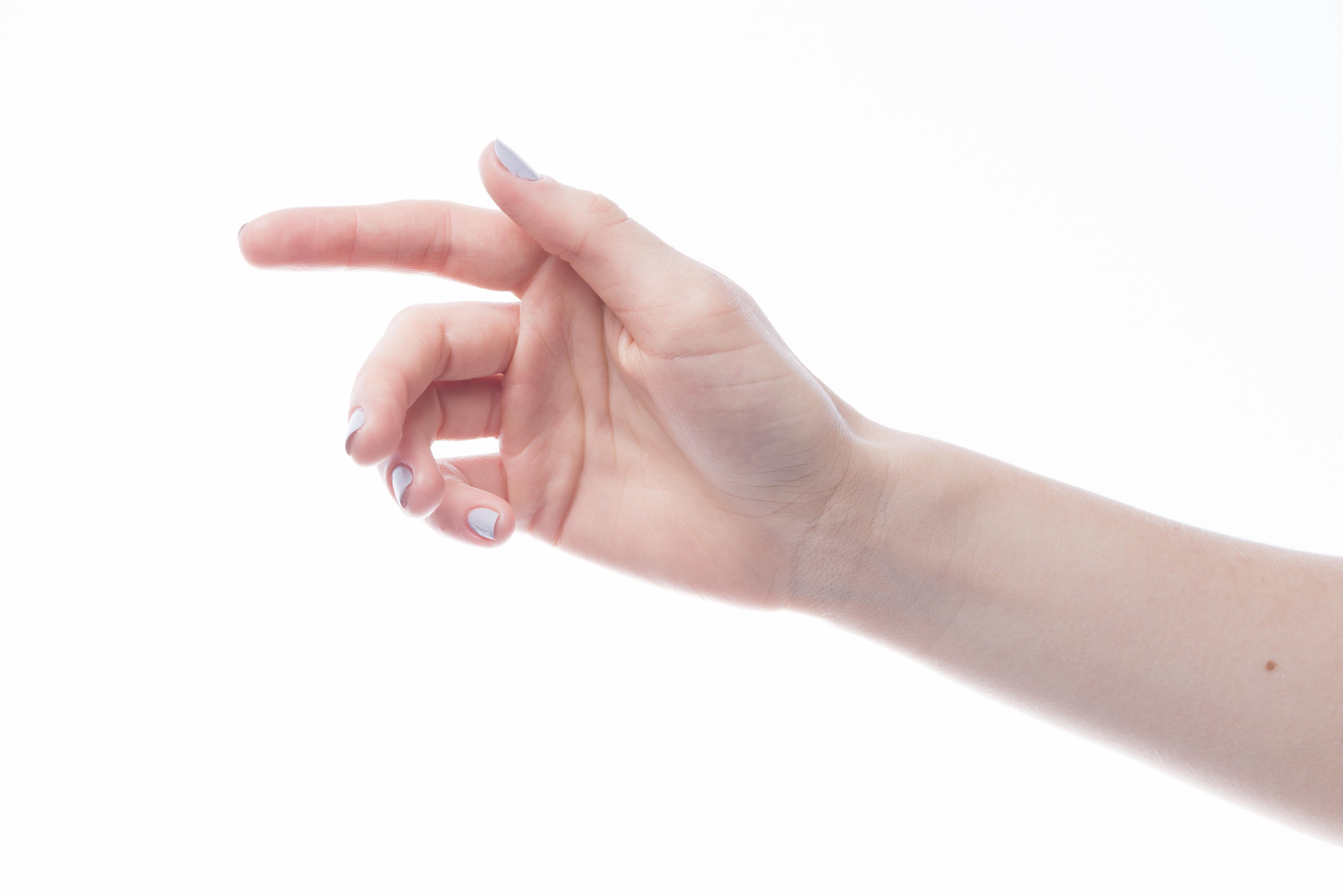 inflamacion en el dedo mayor de la mano