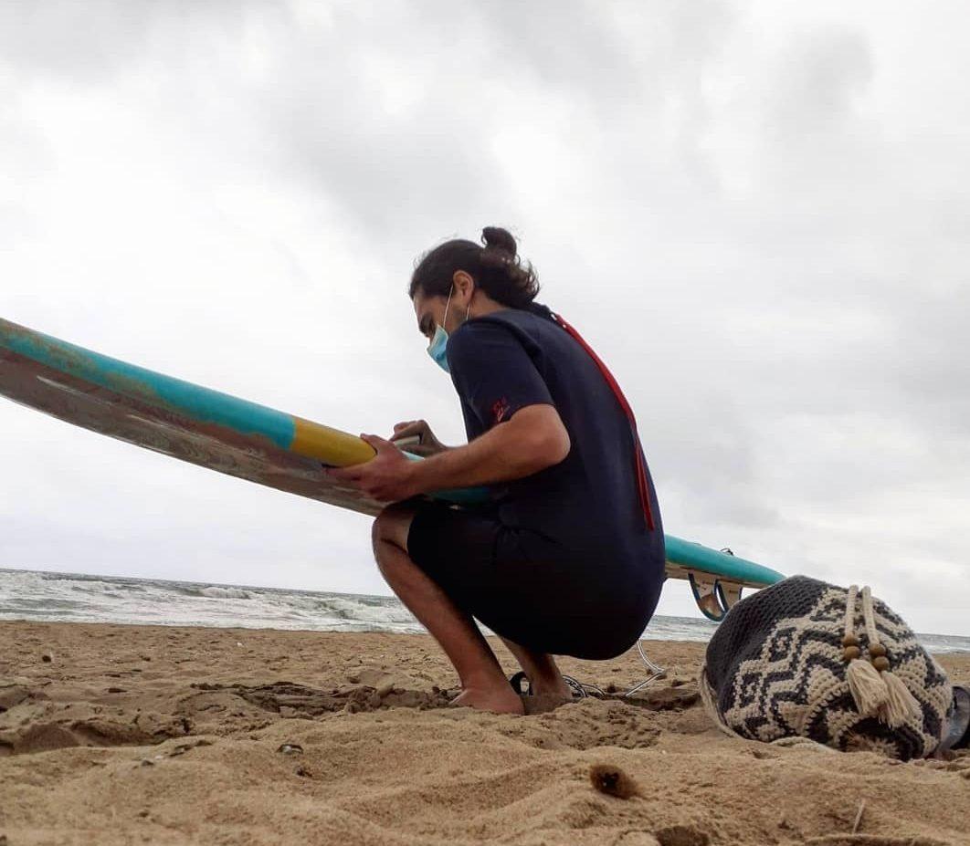 El surf y sus lesiones más comunes